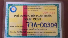 Ba lái xe của Cục QLTT dùng vé thu phí giả