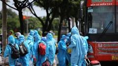 Người lao động quay trở lại TP HCM được xét nghiệm, ở trọ miễn phí