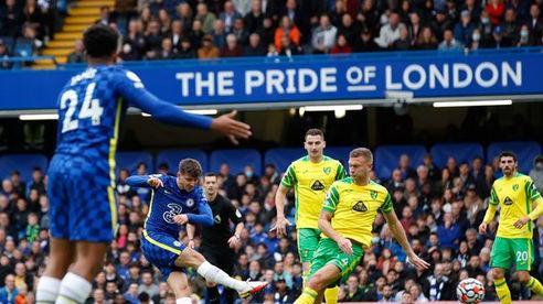 Đánh tennis ở Stamford Bridge, Chelsea hủy diệt Norwich