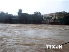Cả 3 hồ thủy điện ở Bình Phước xả lũ, cảnh báo ngập vùng hạ du