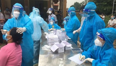 Gần 300 ca nhiễm, dịch đã xuất hiện tại 43 đơn vị cấp xã ở Phú Thọ