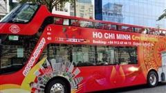 Du lịch bằng xe buýt 2 tầng ở TP Hồ Chí Minhchính thức hoạt động lại