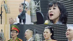 NSƯT Hồng Liên cùng nhiều nghệ sĩ tham gia MV 'Bài ca thắng giặc Corona'