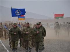 Lực lượng phản ứng nhanh của CSTO tập trận sát biên giới Afghanistan