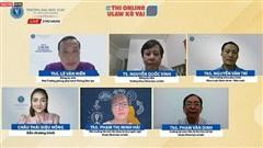 ĐH Luật TP.HCM livestream giải đáp thắc mắc về vấn đề thi online