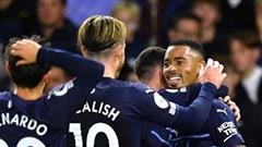 Brighton 1–4 Man City: Man City vươn lên vị trí thứ 2 tại Premier League