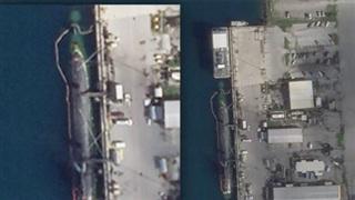 Hình ảnh đầu tiên về tàu ngầm Hải quân Hoa Kỳ sau vụ va chạm bí ẩn ở Biển Đông