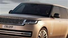 Lộ hình ảnh thực tế của Range Rover 2022 trước ngày ra mắt chính thức