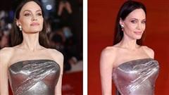 Angelina Jolie khoe thân hình như tạc tượng ở tuổi 46