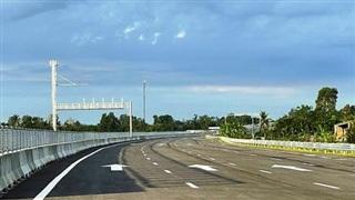 Cao tốc Trung Lương - Mỹ Thuận: Phục vụ người dân đi lại trong dịp Tết Nguyên đán 2022