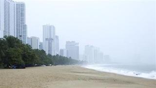 Khánh Hòa ngưng các hoạt động trên biển từ 18 giờ ngày 25/10