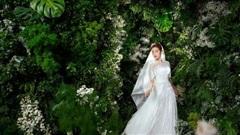 Đỗ Mỹ Linh hóa cô dâu trong váy cưới của NTK Lê Thanh Hoà