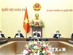 Cuộc họp về công tác phục vụ Kỳ họp thứ hai, Quốc hội khóa XV
