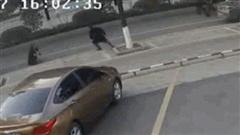 Video: Cướp ví ngay trước mặt cảnh sát, người đàn ông nhận kết cục bẽ bàng