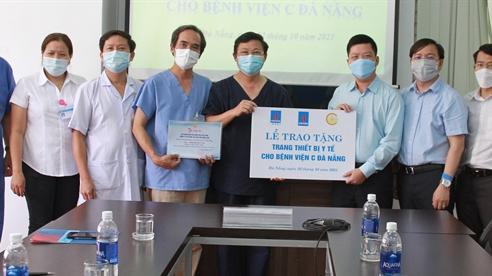 BSR tặng thiết bị y tế cho BV C Đà Nẵng