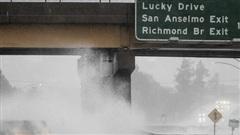 'Bom bão' lịch sử vùi dập bang California