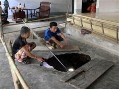 Nghệ An: Liên tiếp xuất hiện các 'hố tử thần' khiến người dân bất an