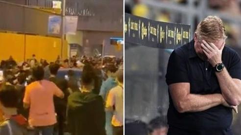 HLV Koeman bị CĐV Barca lăng mạ, tấn công sau trận thua Real