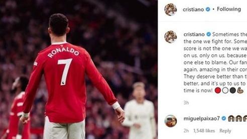 Ronaldo phản ứng thế nào sau trận thua thảm hại trước Liverpool?
