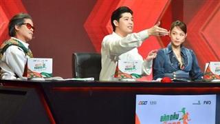Đang hạnh phúc trong tình yêu nhưng Minh Hằng vẫn công khai thể hiện sự yêu mến chàng trai này trên sóng truyền hình