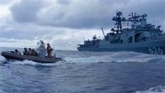 Tàu chiến Nga tấn công cướp biển ở châu Phi