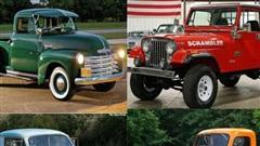 10 xe bán tải nhỏ gọn tiện dụng từng được sản xuất