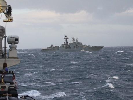 Hải quân Nga giải cứu tàu container bị cướp biển tấn công