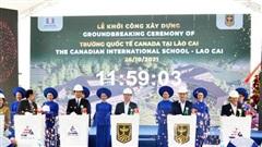 Khởi công xây dựng trường liên cấp quốc tếhơn 400 tỷ đồng ở Lào Cai