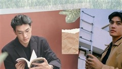 Người mẫu Quang Đại: 'Đời cũng là một quyển sách'