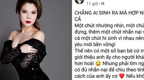 Thanh Thảo nói về chồng sau 5 năm chung sống: 'Không cô nào chịu được quá 1 năm'