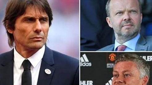 Zidane từ chối, MU chọn Conte thay Solskjaer