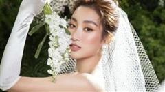 Hoa hậu Đỗ Mỹ Linh gây bất ngờ khi tung bộ ảnh cô dâu lộng lẫy