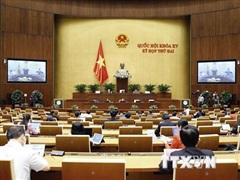 Thông cáo báo chí số 7, Kỳ họp thứ 2, Quốc hội khóa XV