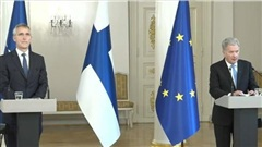 Tổng thư ký Jens Stoltenberg thăm Helsinki: Để ngỏ cánh cửa gia nhập NATO với Phần Lan