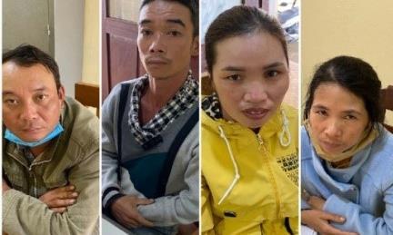 4 công nhân trộm hơn 3 tấn chuối