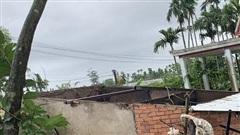 Lốc xoáy tốc mái hơn 50 ngôi nhà, cây cối đổ rạp ở Quảng Ngãi