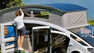 Ngắm chiếc xe Van cắm trại đầu tiên trên thế giới sử dụng điện mặt trời