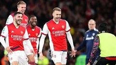 Đả bại Leeds, Arsenal vào tứ kết cúp Liên đoàn Anh