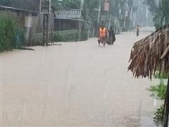 Cảnh báo lũ trên các sông từ Nghệ An đến Ninh Thuận và Tây Nguyên