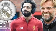 Jurgen Klopp khuyên Salah gia nhập Barca thay vì Real Madrid