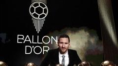 Messi không có đối thủ ở bầu chọn Quả bóng vàng 2021