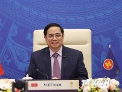 Thủ tướng đề nghị Ấn Độ ủng hộ ASEAN duy trì hòa bình ở Biển Đông