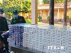 Tây Ninh phát hiện 2 vụ buôn lậu, thu giữ hơn 10.000 bao thuốc lá