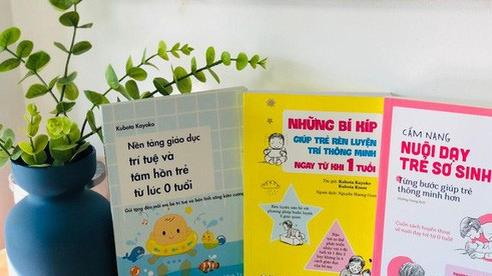 Có gì trong bộ sách nuôi dạy con từ 0 tuổi của vợ chồng chuyên gia thần kinh học Kubota?