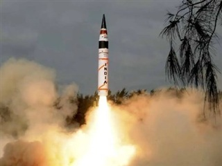 Ấn Độ thử tên lửa đạn đạo có khả năng mang đầu đạn hạt nhân