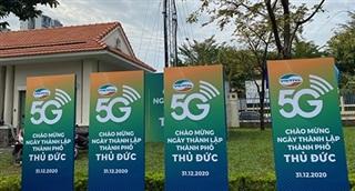 Viettel cung cấp dịch vụ 5G tại TP Thủ Đức