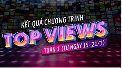 10 kênh đạt Top Views cao nhất tuần đầu tiên trên Mocha