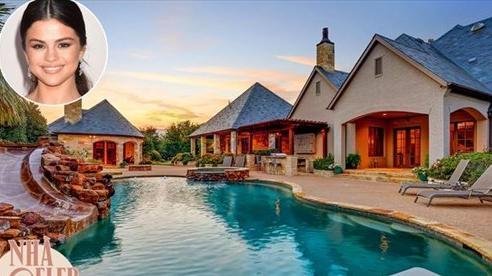 Căn biệt thự 2,7 triệu đô của Selena Gomez: Bên ngoài như resort 5 sao, bên trong nguy nga như cung điện