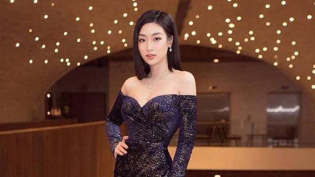 Đắm đuối trước vẻ đẹp quyến rũ của Hoa hậu Đỗ Mỹ Linh trong chiếc đầm xẻ cao tinh tế