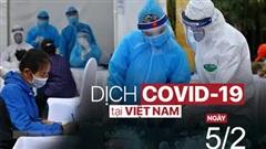 Sáng 5/2, Việt Nam không có thêm ca mắc COVID-19 trong cộng đồng